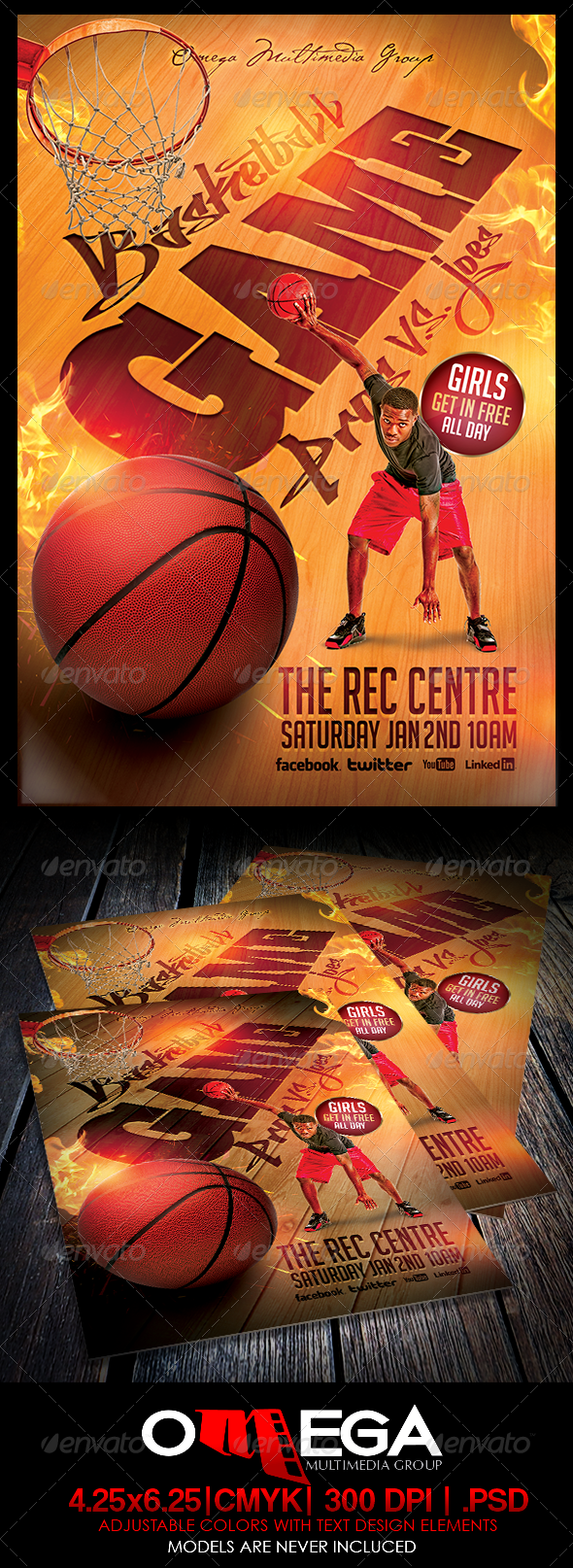 GraphicRiver Basketball Pros Vs Joes 6192569