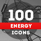100 Energy Icons - GraphicRiver Item for Sale