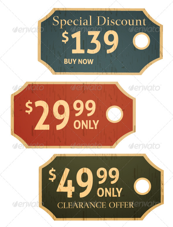 GraphicRiver Sale Tags 6191722