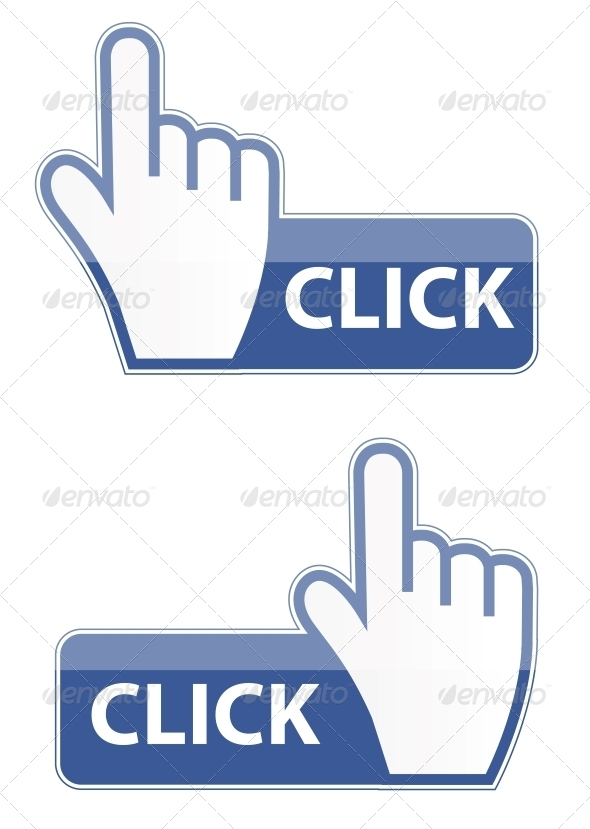 GraphicRiver Mouse Hand Cursor Click Button 6193000