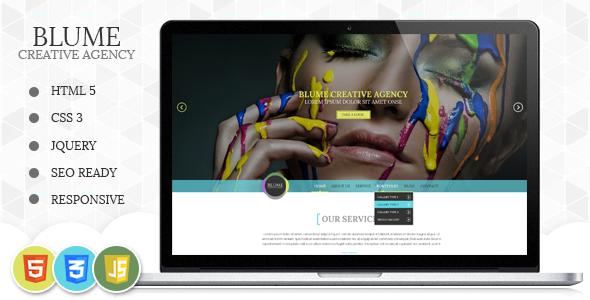 Blume Responsive HTML Template - Fashion Retail