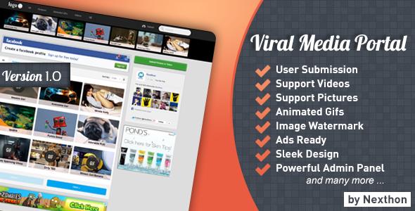 CodeCanyon Viral Media Portal 6193144
