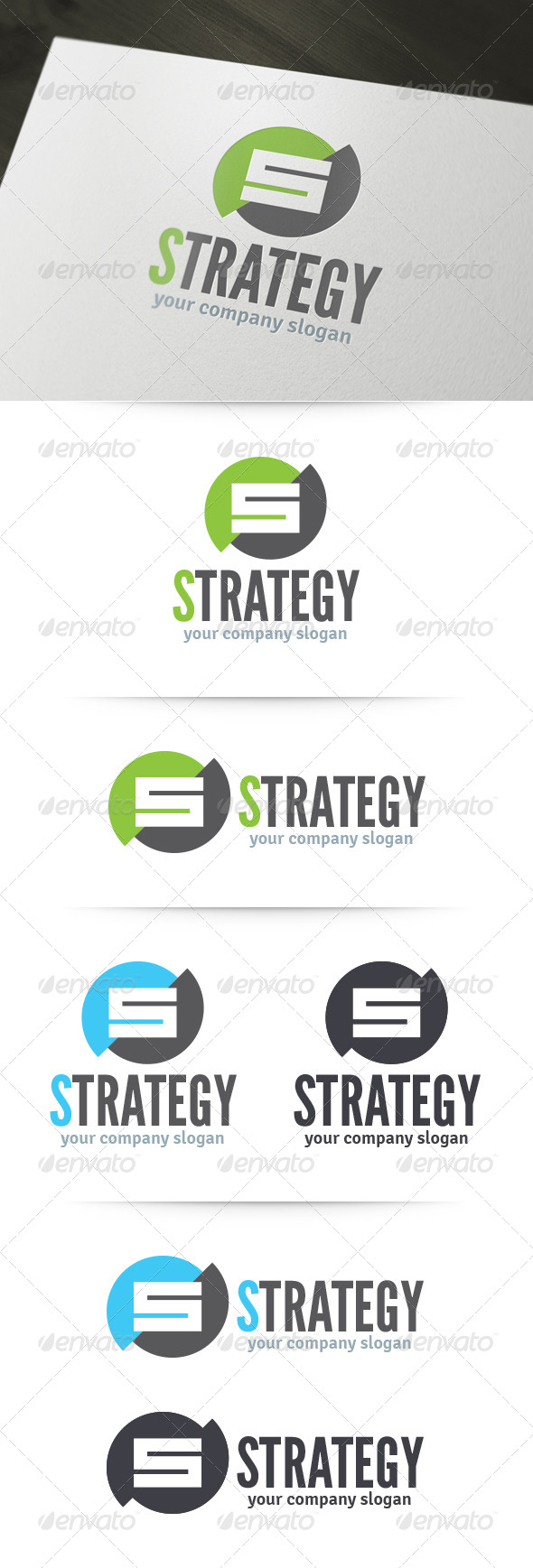 GraphicRiver Strategy Letter S Logo 6193166