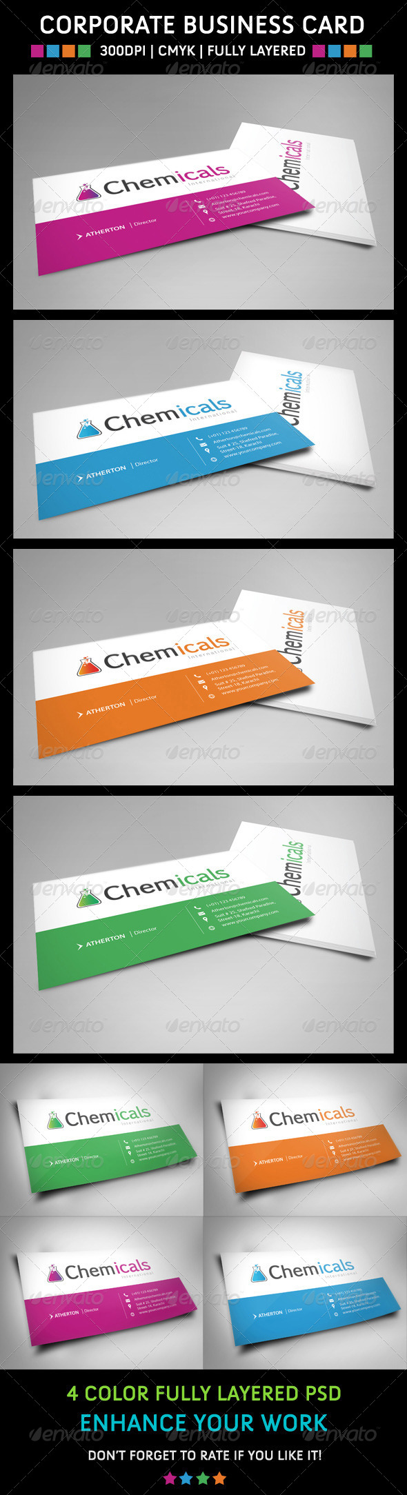 GraphicRiver Corporate Business Card 6160750