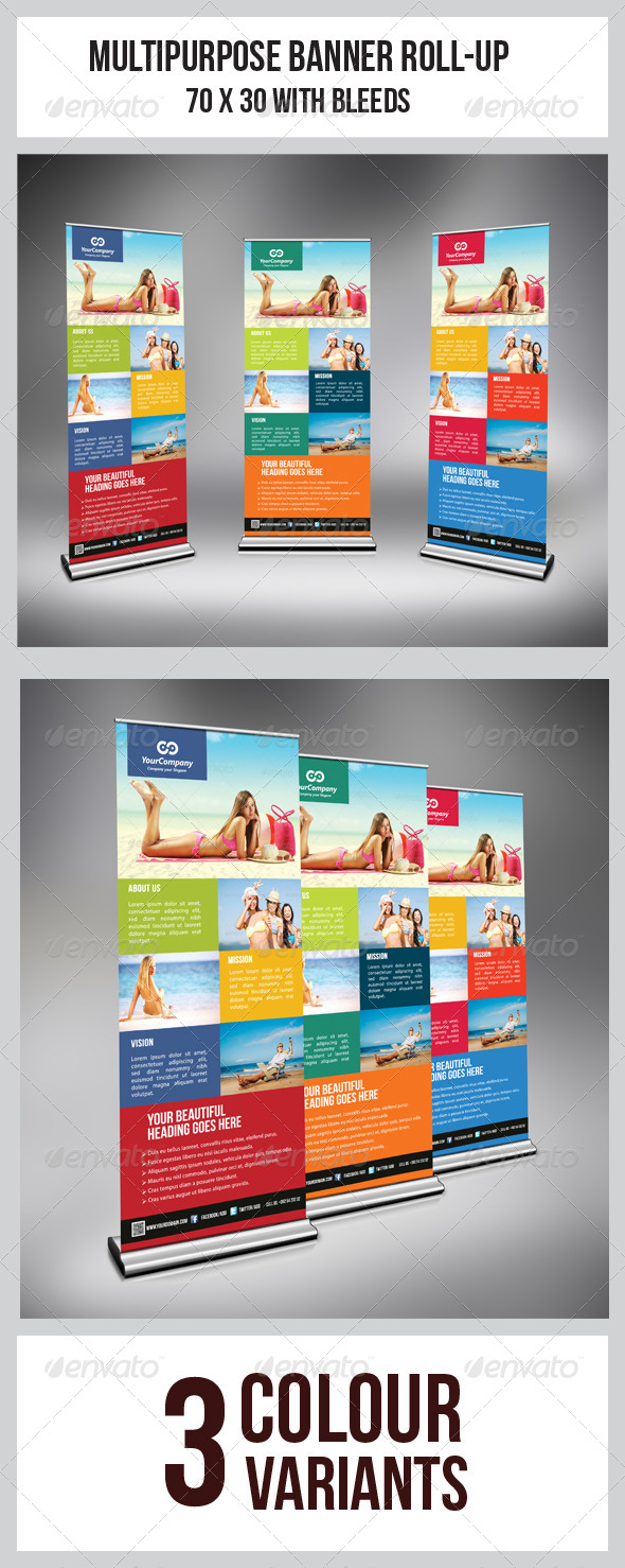 GraphicRiver Tourism Banner Vol.2 6193179