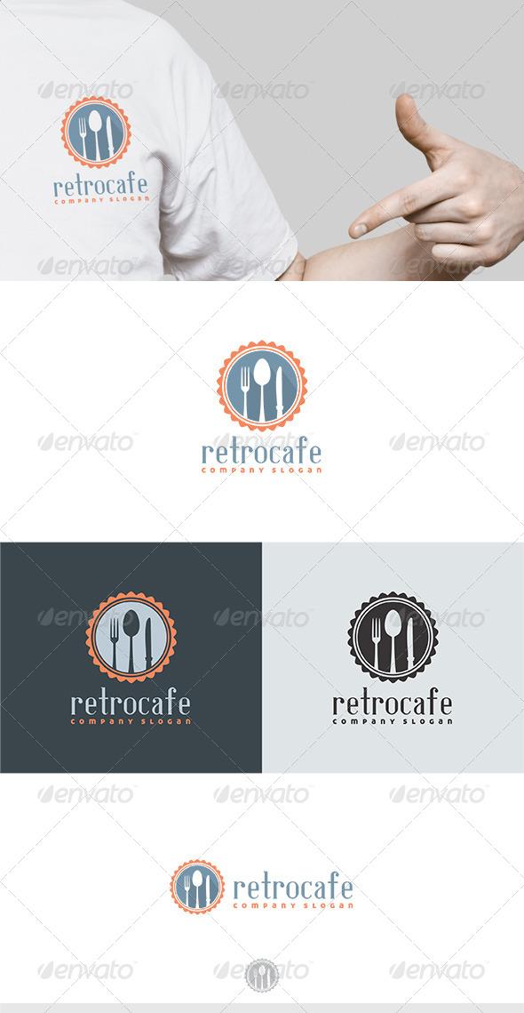 GraphicRiver Retro Cafe Logo 6193271