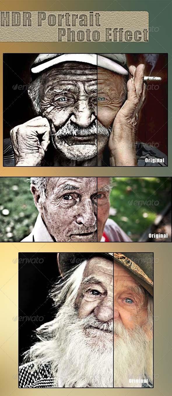 GraphicRiver HDR Portrait Photo Effect 6193616