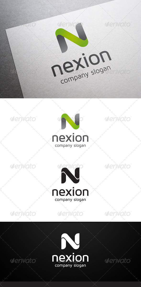GraphicRiver Nexion N Letter Logo 6193630