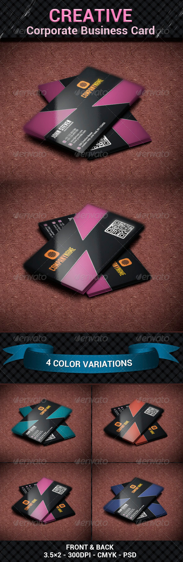 GraphicRiver Creative Corporate Business Card 6194124