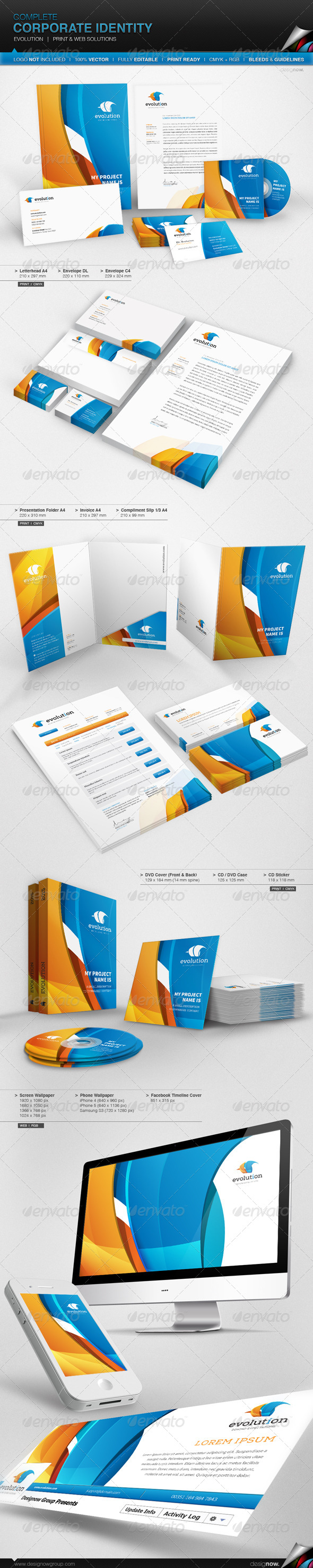 GraphicRiver Corporate Identity Evolution 6194439