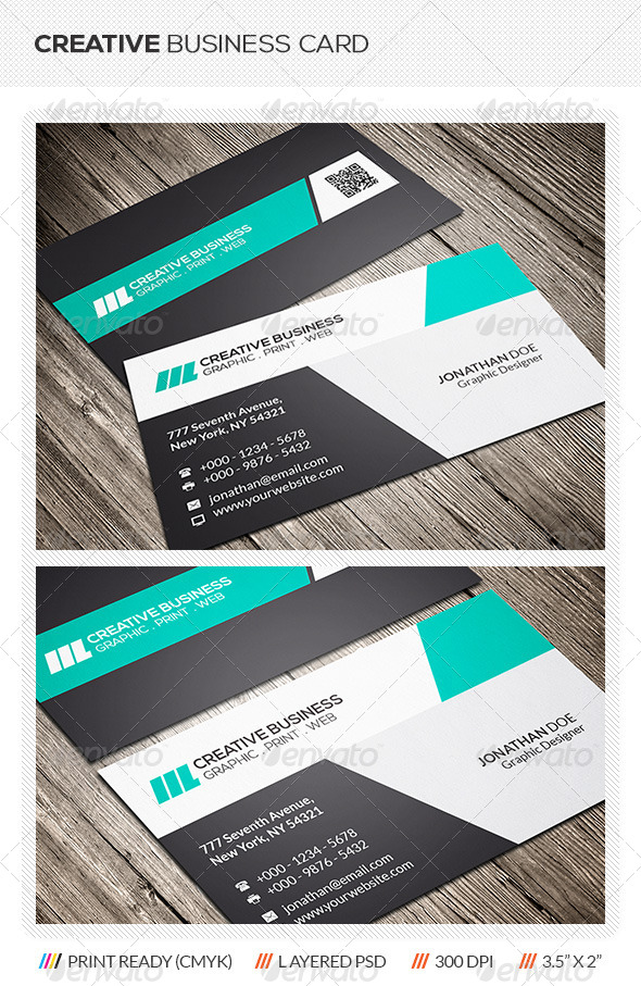 GraphicRiver Creative Corporate Business Card 6194531
