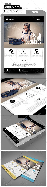 GraphicRiver Corporate Flyer 6194613