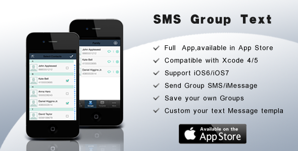 CodeCanyon SMS Group Text 6176382