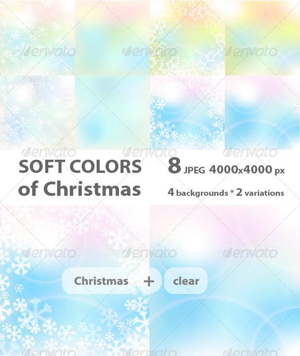 GraphicRiver Christmas Soft Colors 6195029