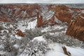 Spider Rock in Canyon De Chelly in Arizona
