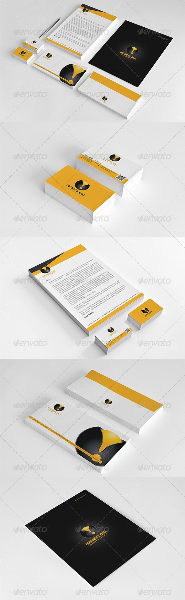 GraphicRiver Business Ball Corporate Identity Package 6148779