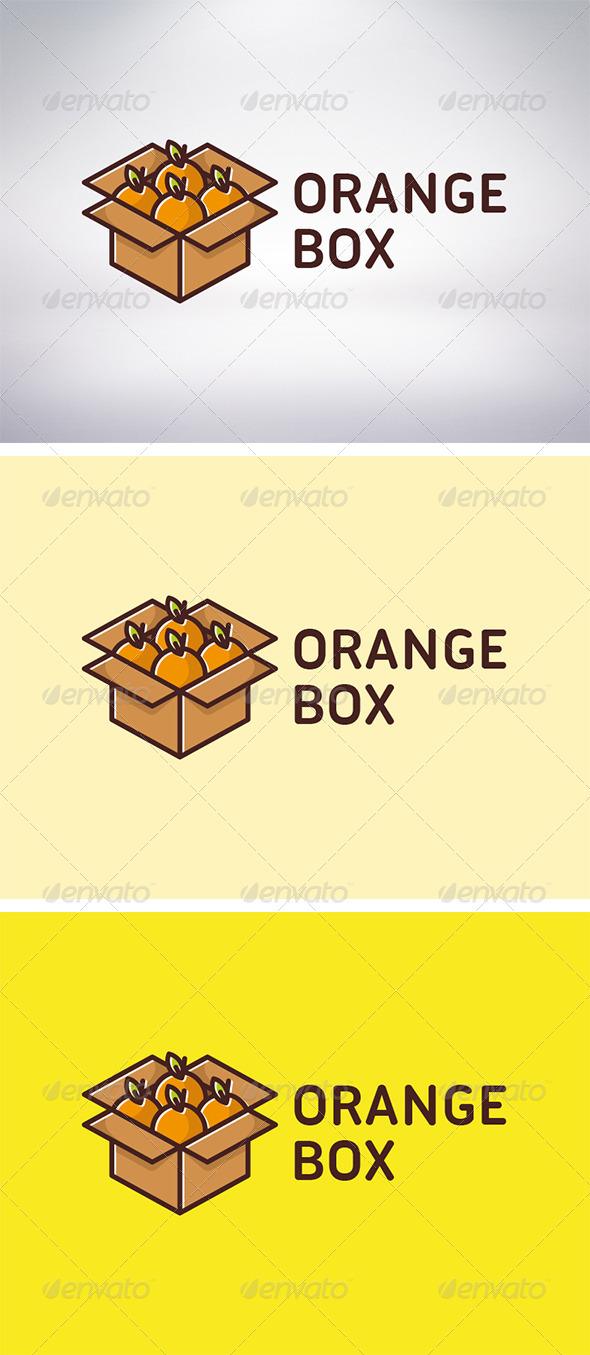 GraphicRiver Orange Box Logo 6197417