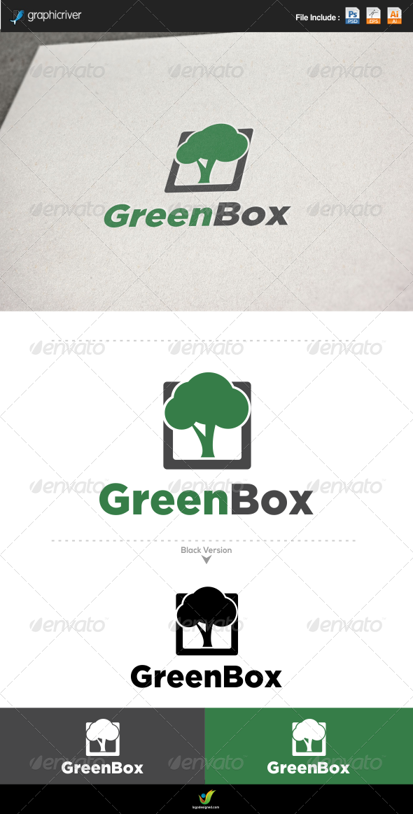 GraphicRiver Green Tree 6197526
