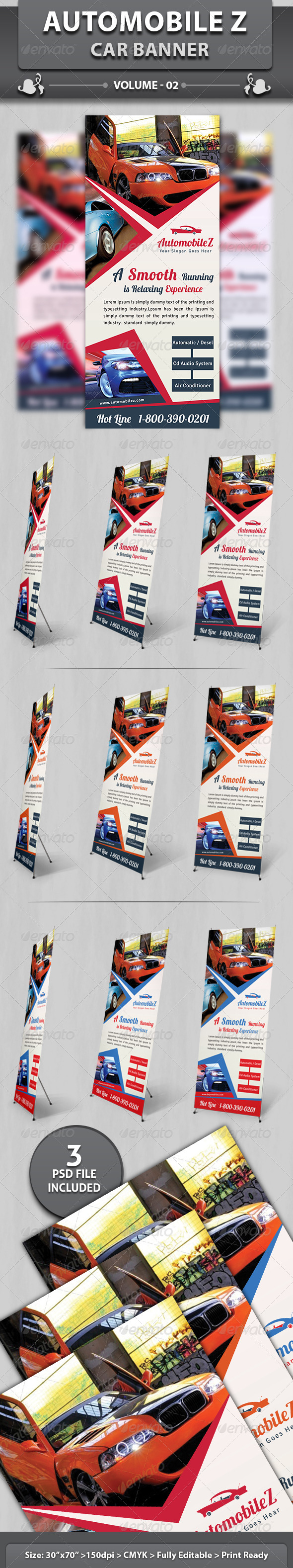 GraphicRiver AutoMobileZ Car Banner v2 6197632
