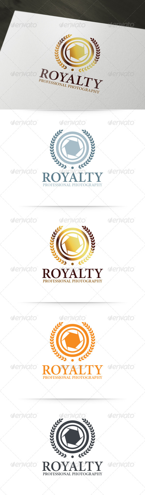 GraphicRiver Royalty Photography Logo 6198032