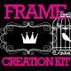 Doodle & Swirl Frame Creation Kit Design Elements - GraphicRiver Item for Sale