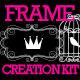 Doodle & Swirl Frame Creation Kit Design Elements