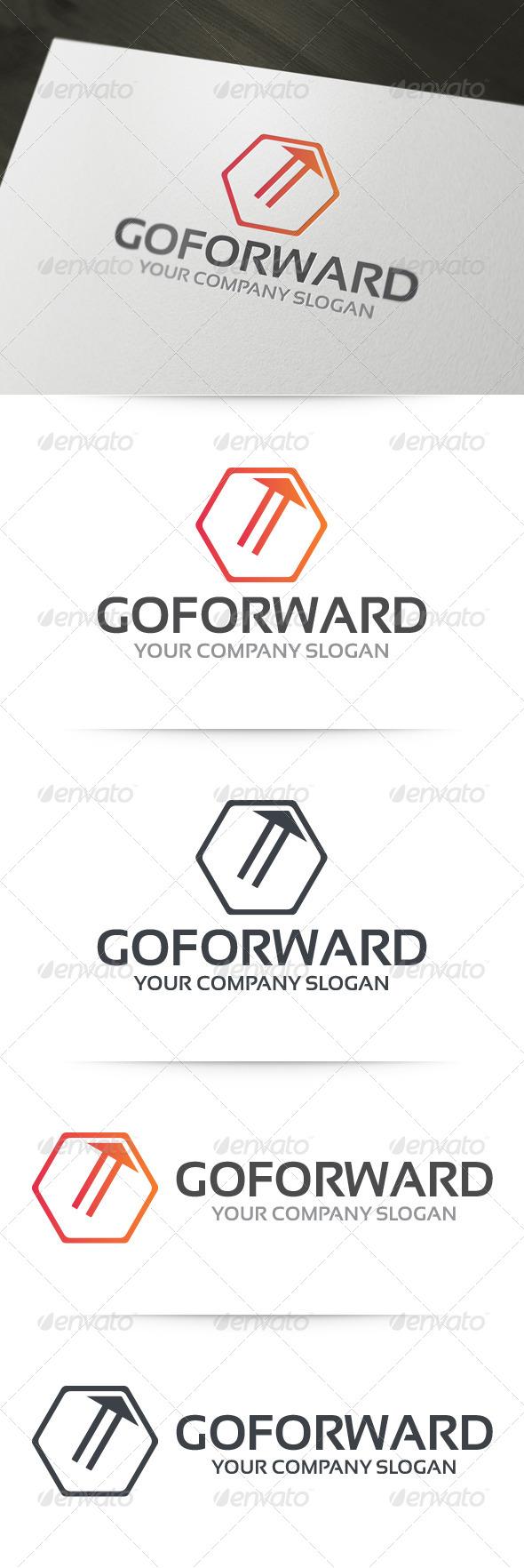 GraphicRiver Go Forward Logo 6198104