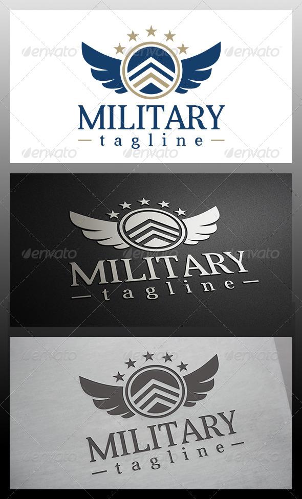 GraphicRiver Military Logo 6198203