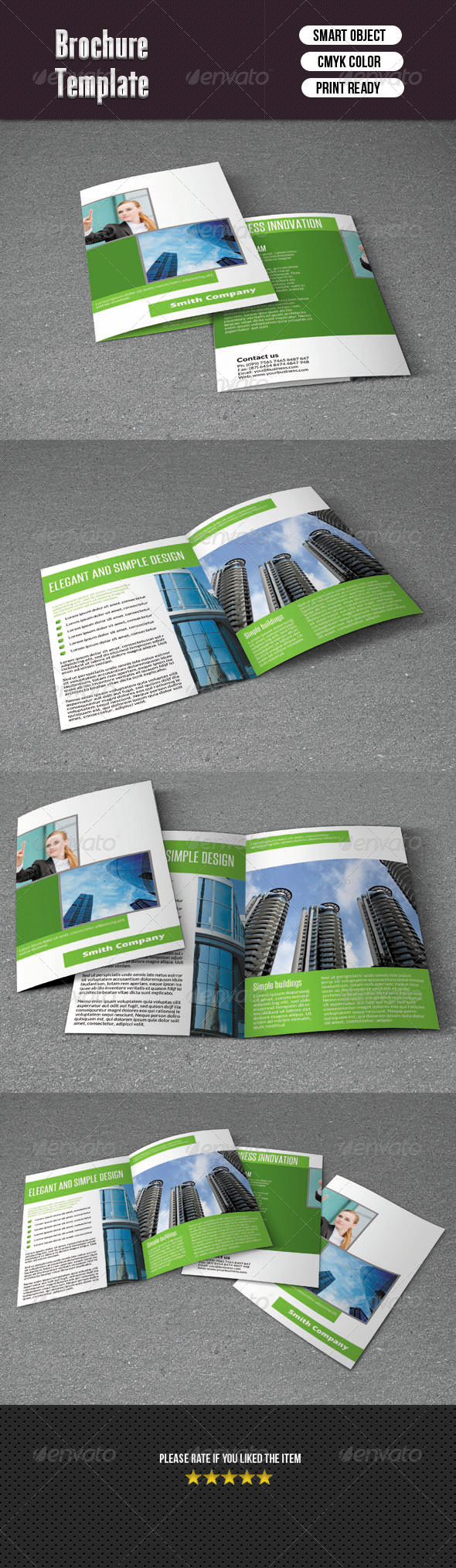 GraphicRiver Company Brochure-Bifold 6198282