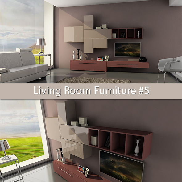 3DOcean Living Room Furniture #5 6198569