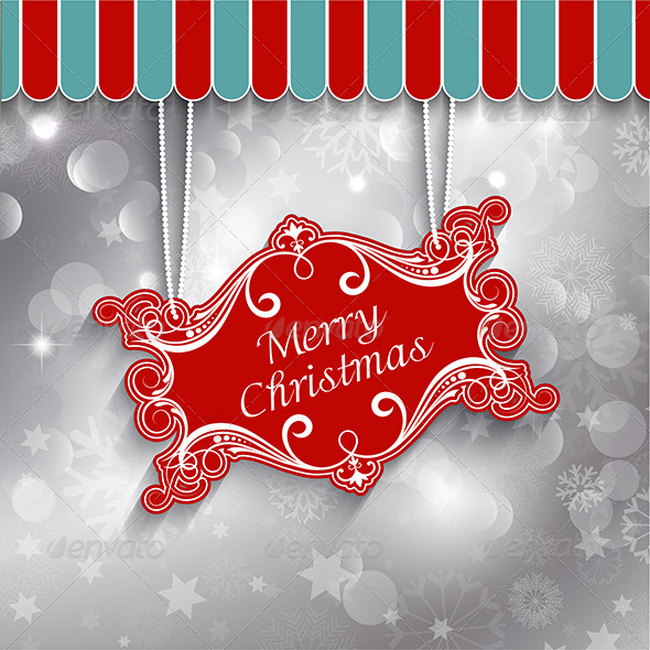 GraphicRiver Christmas Sign Background 6198576