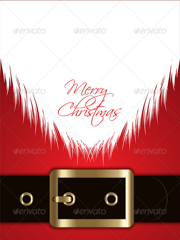 GraphicRiver Christmas Santa Background 6198600