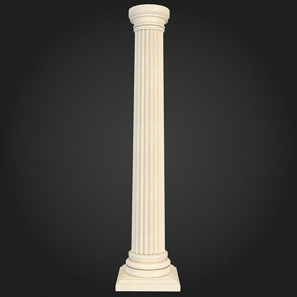 3DOcean Column 007 6198622