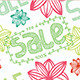 Spring Sale Seamless Pattern - GraphicRiver Item for Sale