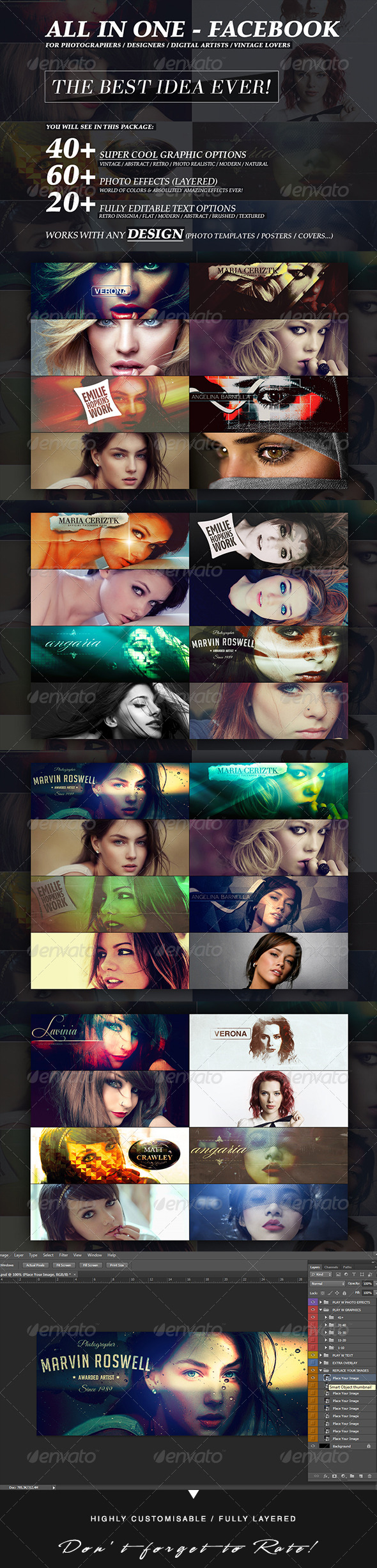 GraphicRiver All In One ExtraOrdinary Facebook Revolution 6193839