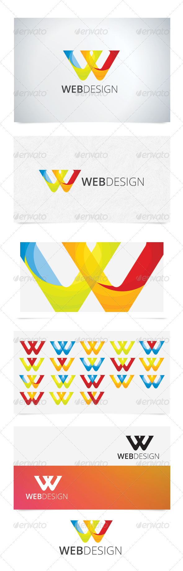 W Character Logo