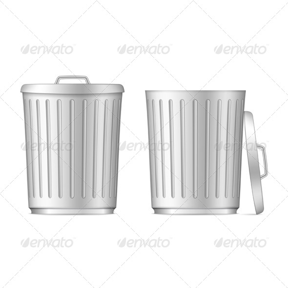 GraphicRiver Trash Cans 6199082
