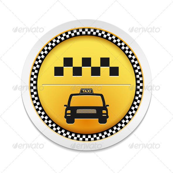 GraphicRiver Taxi Icon 6199087