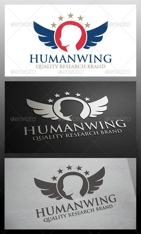 GraphicRiver Human Crest Logo 6199193