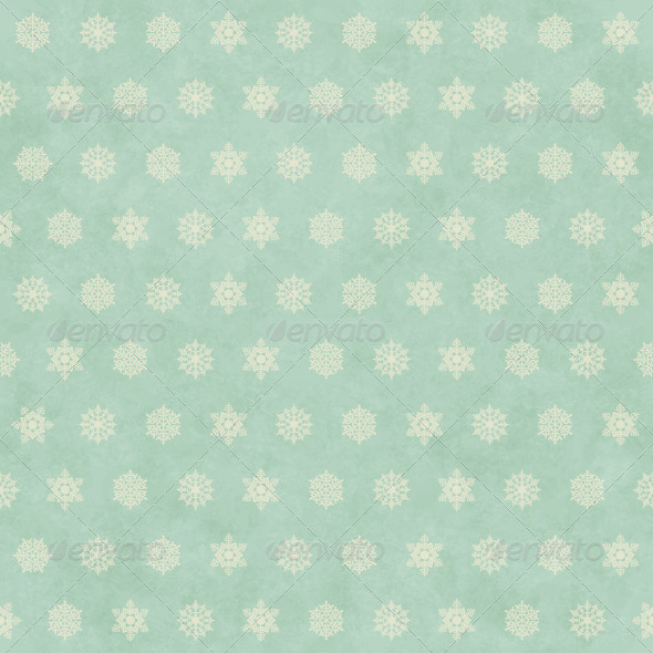 GraphicRiver Christmas Winter Retro Seamless Pattern Background 6199299