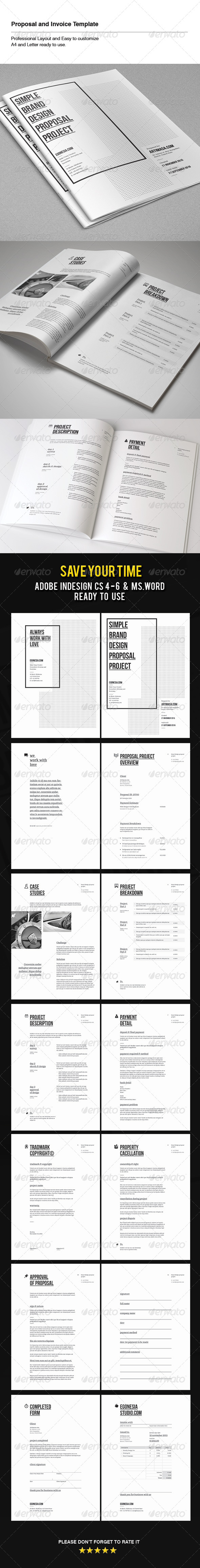 GraphicRiver Proposal & Invoice Template 6199301