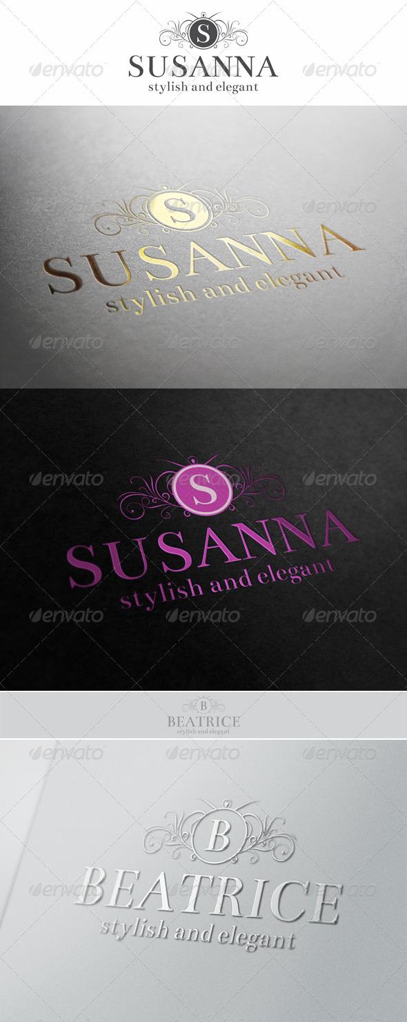 GraphicRiver Heraldic Elegant Fashion Logo 6199503