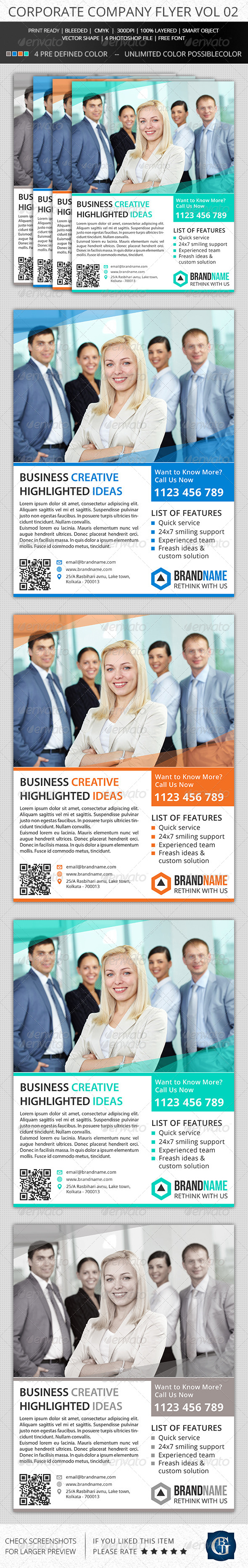 Corporate Creative Flyer Vol 02 - Corporate Flyers