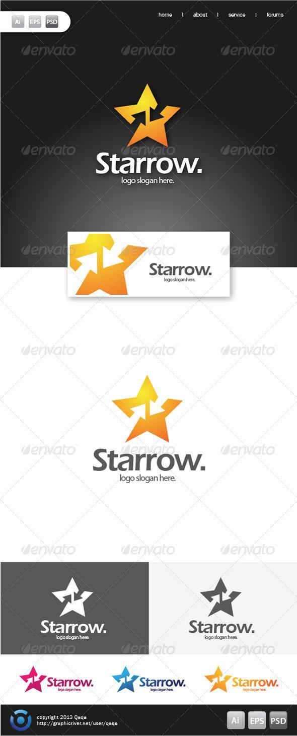 GraphicRiver Star Arrow Logo 6199664