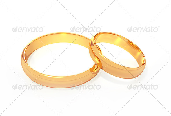 GraphicRiver Wedding Rings 6199896