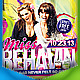 Miss Behavin Flyer - GraphicRiver Item for Sale