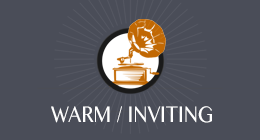 Warm / Inviting