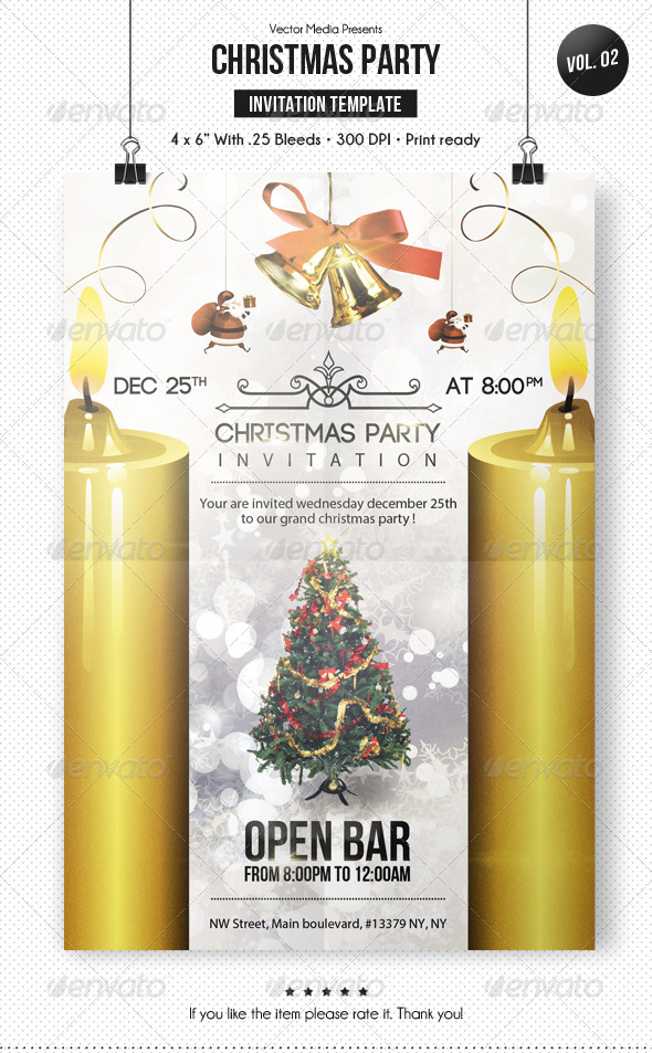 GraphicRiver Christmas Party Invitation [Vol.2] 6200500