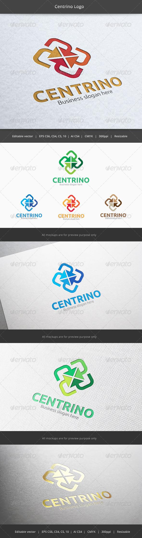 GraphicRiver Centrino Center Logo 6200654