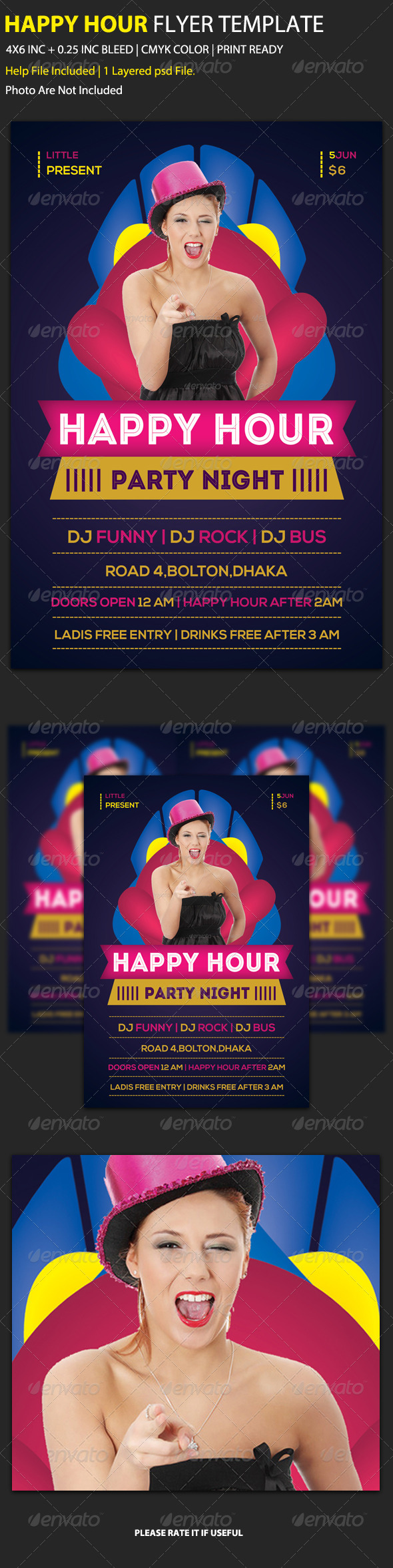 GraphicRiver Party Flyer Template 12 6201006